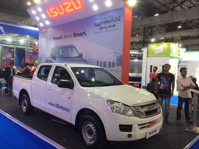 ISUZU D-MAX S-CAB and D-MAX Regular Cab showcased at the India Cold Chain Show