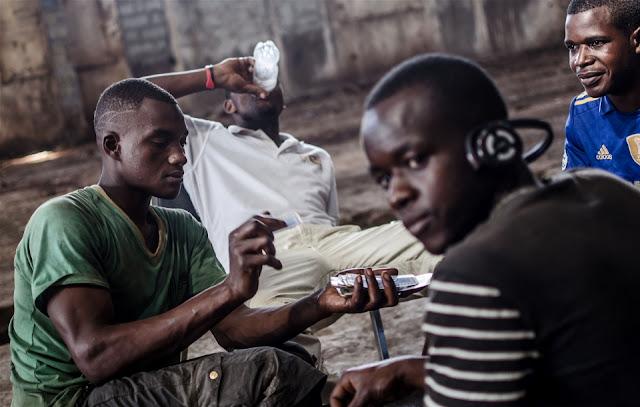 Idle unemployed youth Kenya