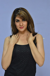 Sakshi Chowdary at Magnet Movie Pre Release Function
