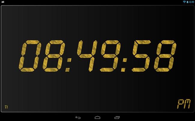 Tips Cara menampilkan waktu digital lengkap jam menit detik di smartphone tablet Android