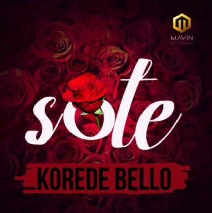 Download Mp3   Korede Bello - Sote