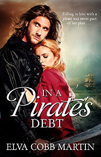 In a Pirate's Debt - book promotion by Elva Cobb Martin