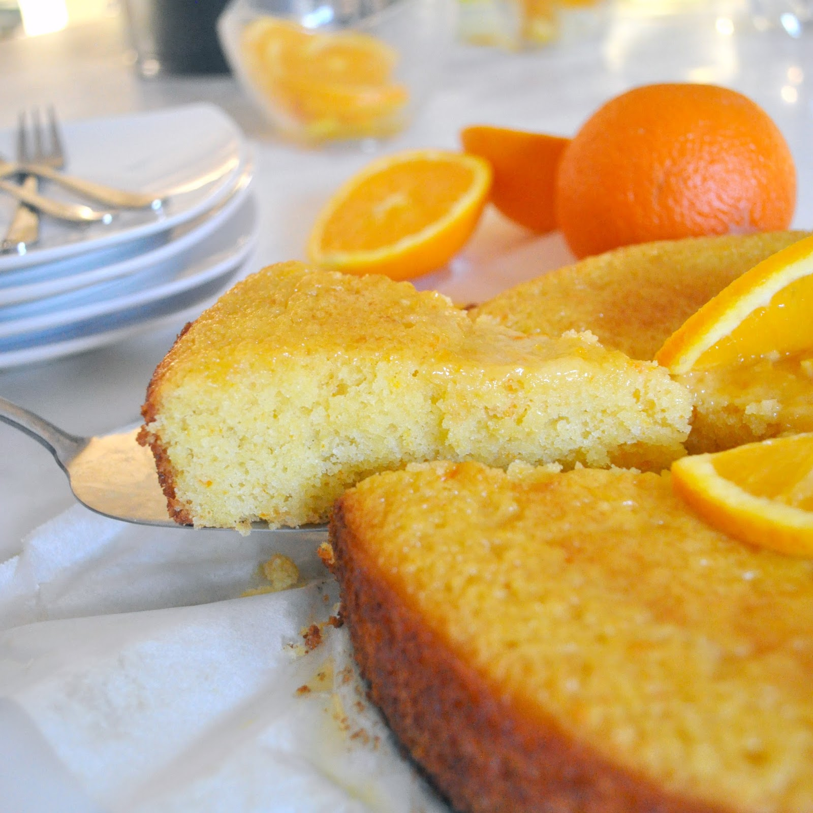 Cooking with manuela made from scratch orange cake with orange glaze forumfinder Gallery