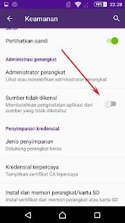 cara mengatasi aplikasi tidak terpasang di android