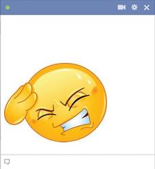 Smiley With A Headache Symbols Emoticons