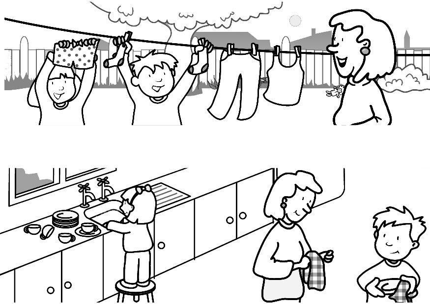 Buenos Modales Para Colorear Page Dibujos Para Colorear De