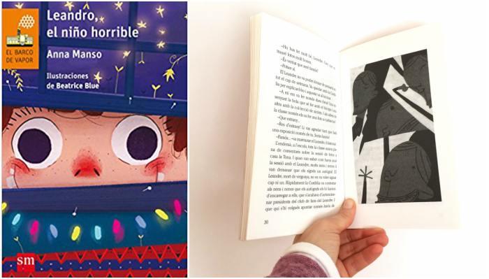 cuentos libros infantiles potenciar, fomentar sana alta autoestima lenadro niño horrible anna manso