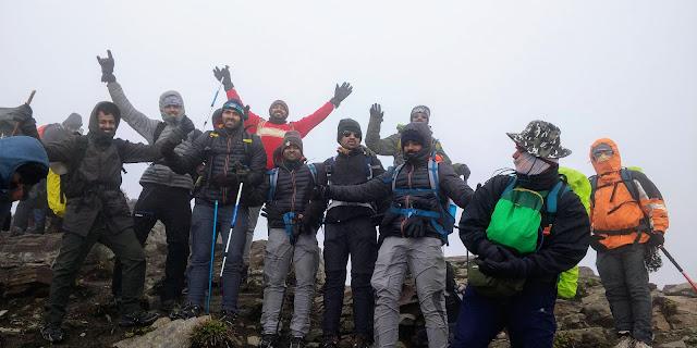 Rupin pass summit