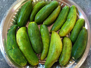 Breaking fast with Cucumbers
