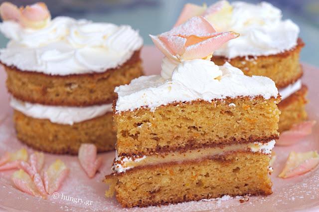 Mini Lemon Curd Cakes