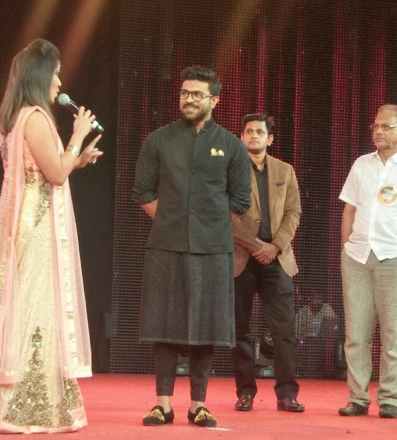 Ramcharan at Asiavision awards 2016