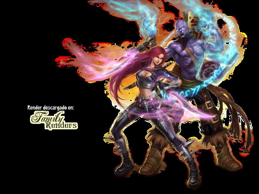 PNG-Katarina y Ryze