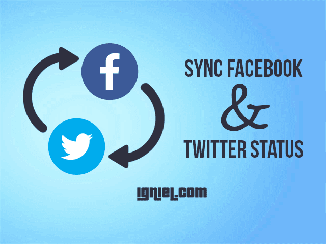 How To Synchronize Facebook And Twitter Status