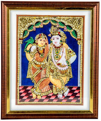 tanjore painting materials