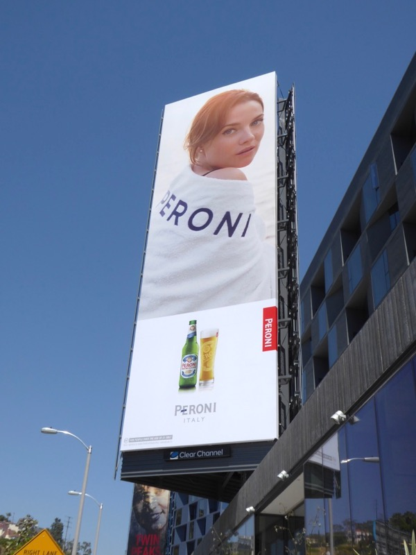 Peroni Beer Spring 2017 billboard
