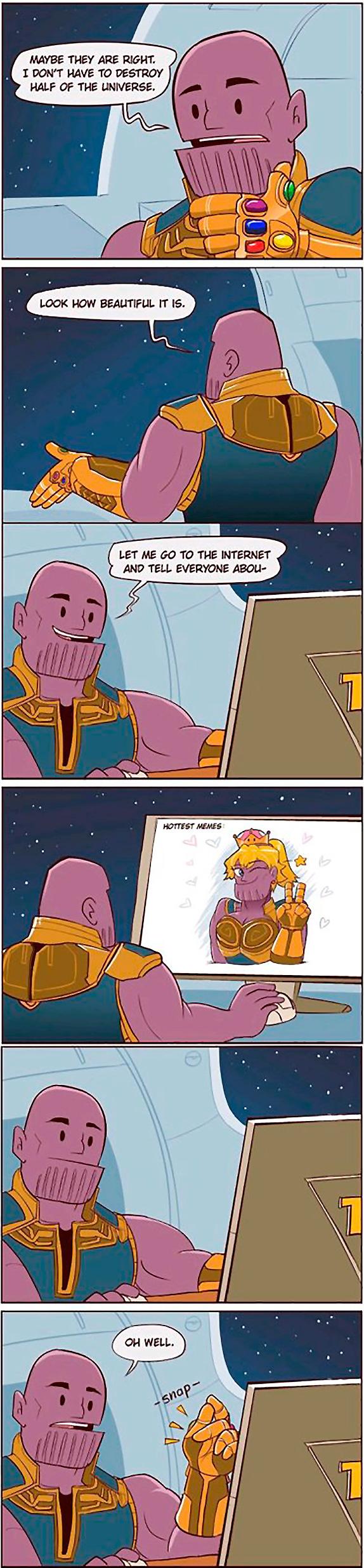 destroy half Universe