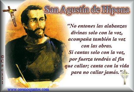 San Agustin Agosto 28 Católicos Hello Foros Uniendo