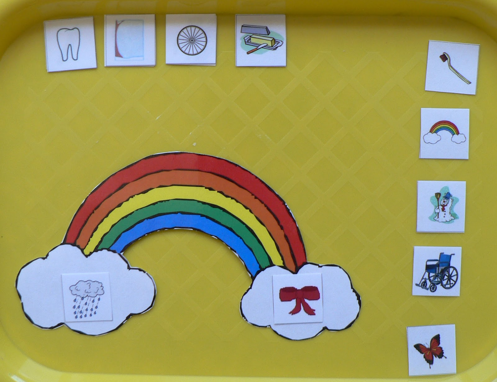 Play N Learn Rainbows Compound Words