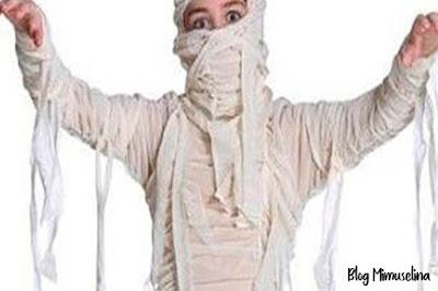 disfraz casero momia niños planes y manualidades halloween blog mimuselina