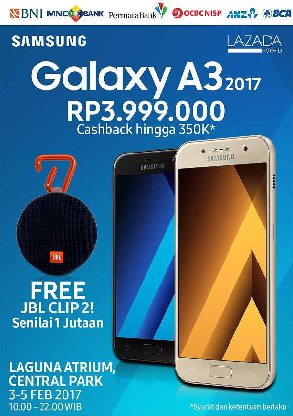 Harga Rilis Samsung Galaxy A3 2017