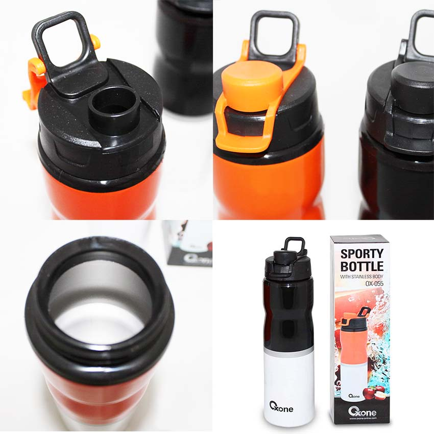 OX-055 Sport Bottle Oxone with Stainless Body