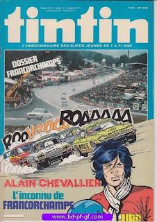 Tintin-numéro 28, année 38, 1983, Alain Chevalier