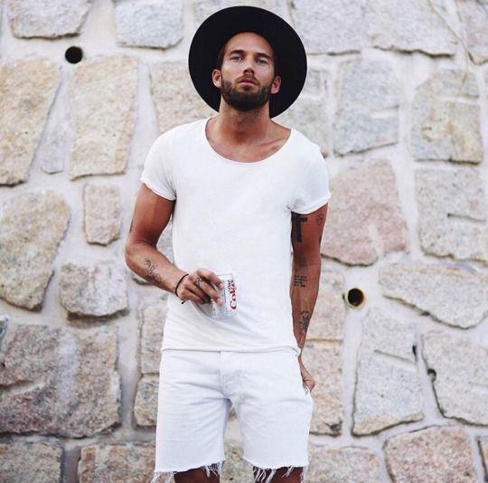 Look Masculino All White