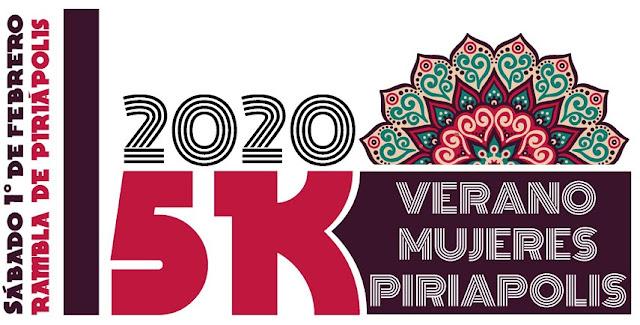 5k Verano Mujeres en Piriápolis (Maldonado, 01/feb/2020)
