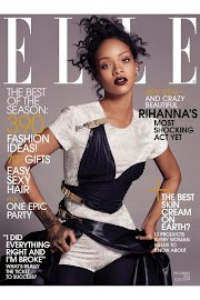 "Rihanna Goes Topless In Elle US Magazine's December 2014 Issue, Says ""Any man that tells me what to do is sexy"""