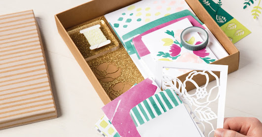 Stampin' Up! Watch It Wednesday with Soft Sayings All-Inclusive Card Kit