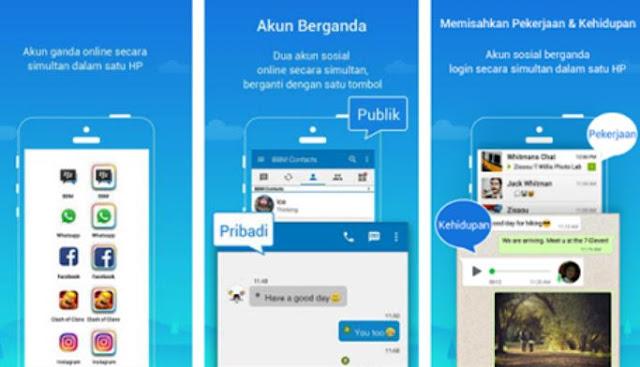 cara menyadap whatsapp dengan parallel space