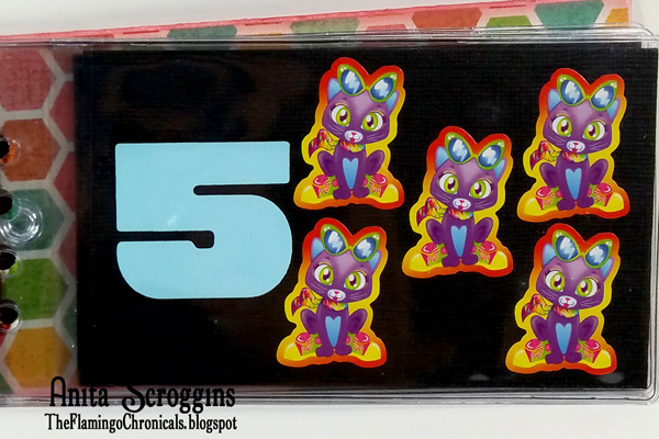 Counting with stickers