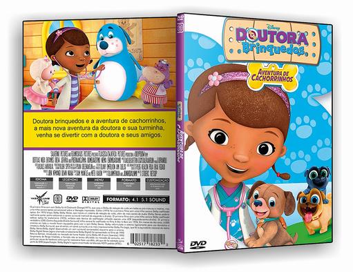 Doutora Brinquedos Aventura De Cachorrinhos 2017 Iso Capa Dvd
