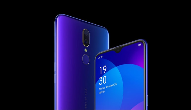 OPPO F11 with Waterdrop Notch