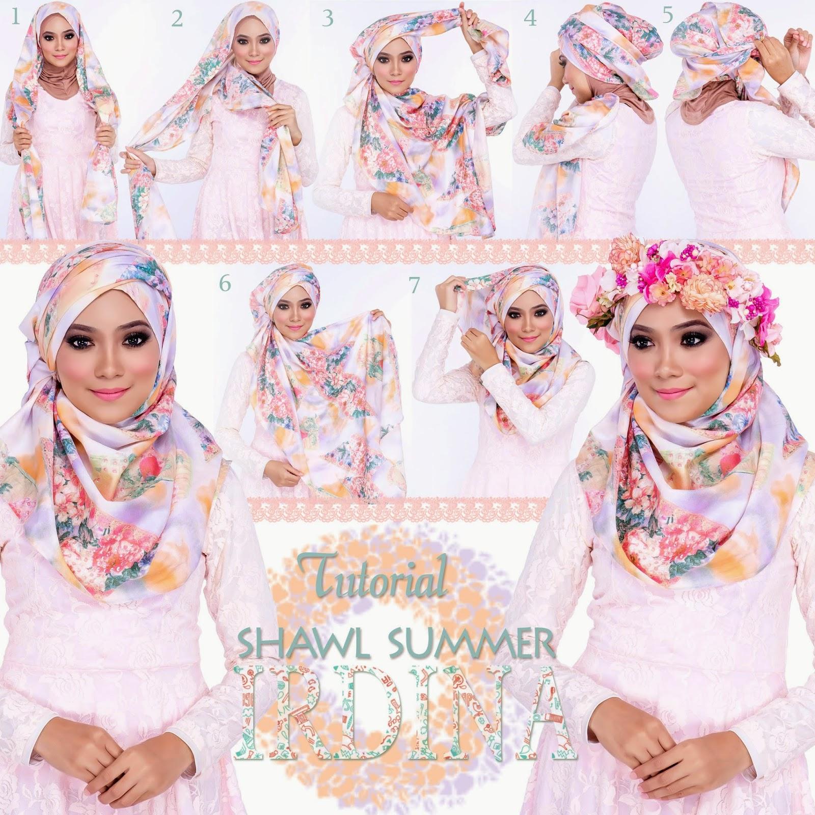 Gambar Tutorial Hijab Atalia Tutorial Hijab