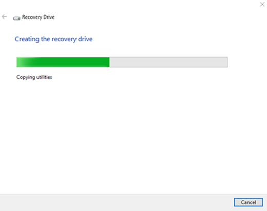 Backing Up Windows 10
