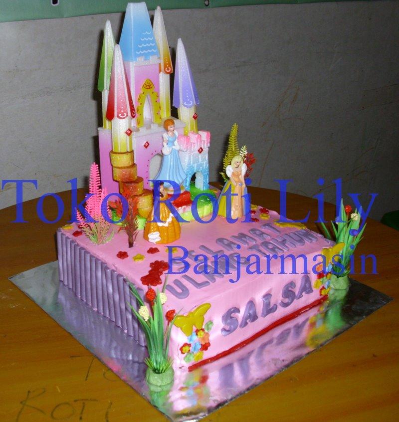 Lily Cake Shop Banjarmasin Kue Ultah Butter Cream Dengan