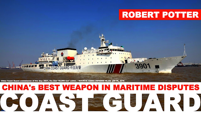 FEATURED | China's Best Weapon in Maritime Disputes, its Coast Guard