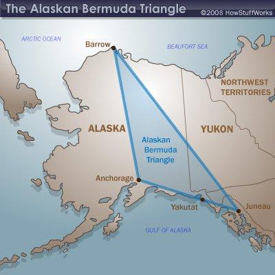 Triângulo das bermudas do Alasca está intrigando cientistas
