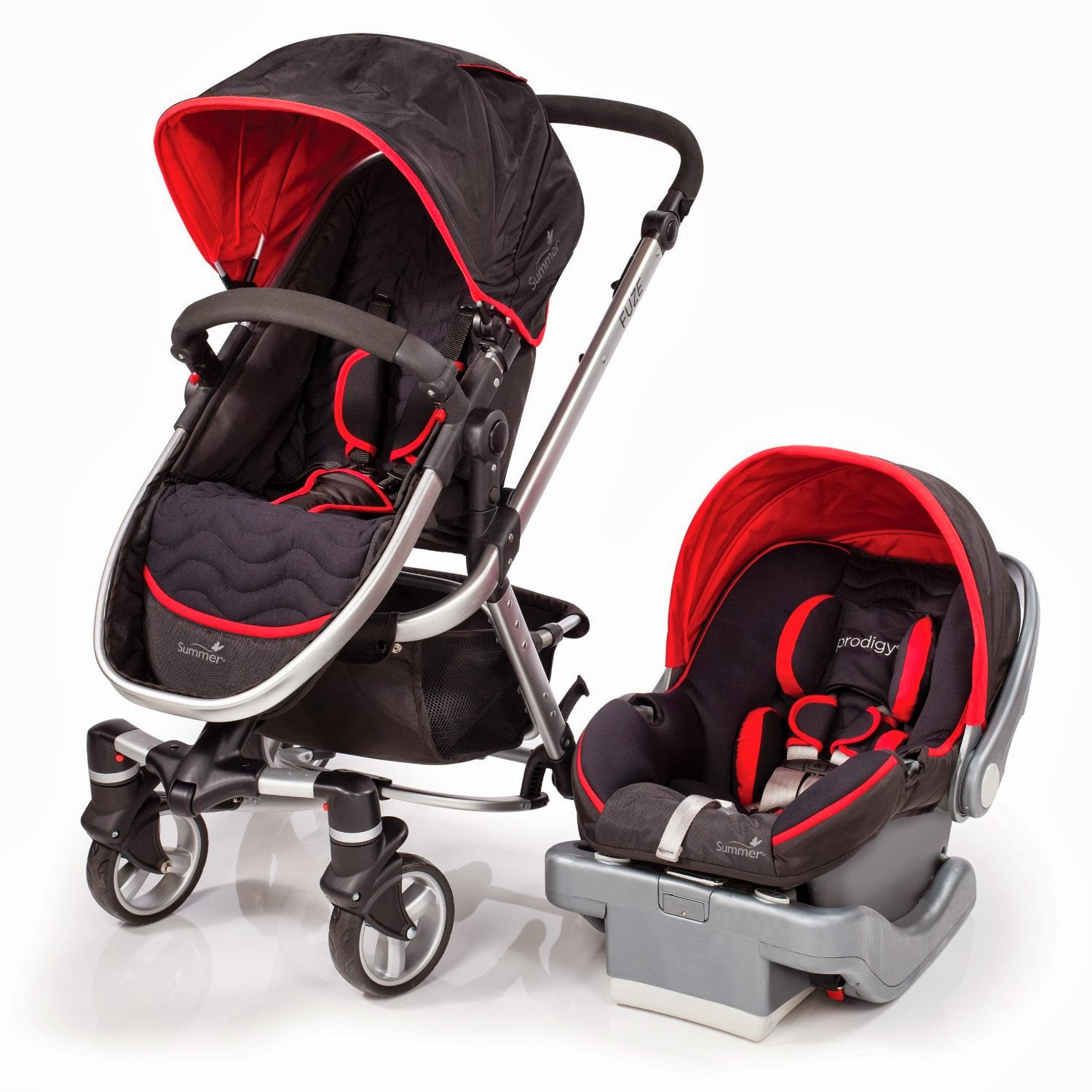 Car Seat Stroller Travel System Reviews Free Shipping Summer Fuze Travel System Baby Stroller