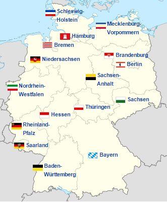 Niemcy Non Stop Język Praca życie Codzienne Mapa