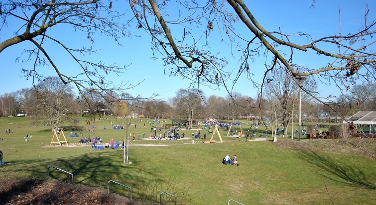 Ausflugsziel für Gartenfreunde: Luisenpark