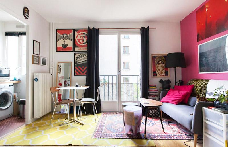 Um apartamento bem pequeno em Paris (e uma dica de site para conhecer casas pelo mundo \o/!)
