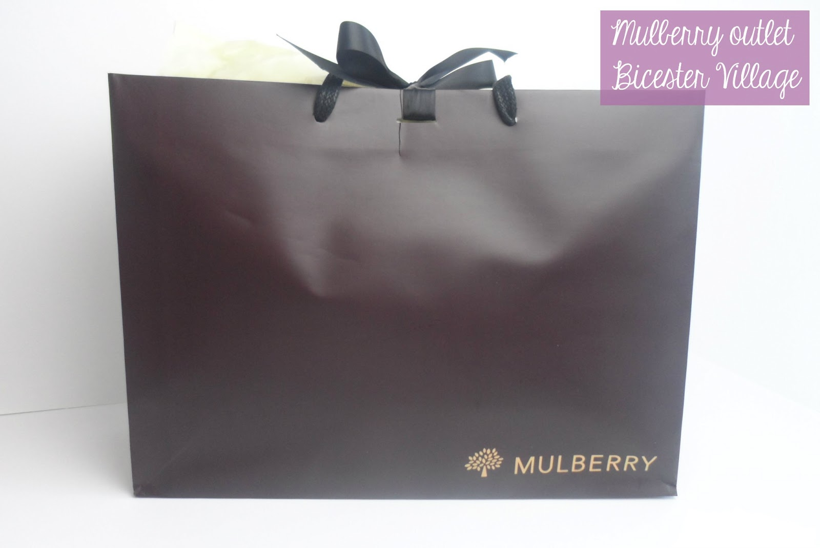 A Review Of The Mulberry Outlet At Bicester Village And My Daria