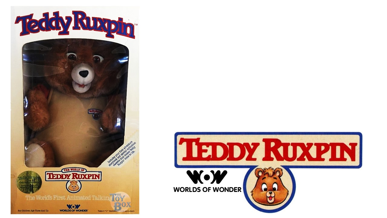 Teddy Ruxpin Anything in the Soup Book and Tape