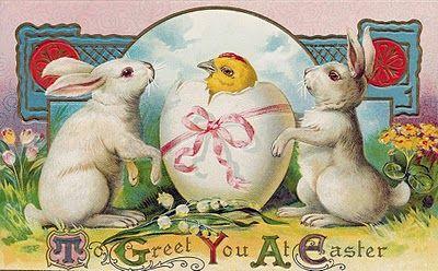 Bytes Some Vintage Easter Cards