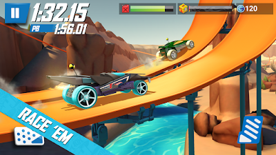 Screenshot Hot Wheels Race Off