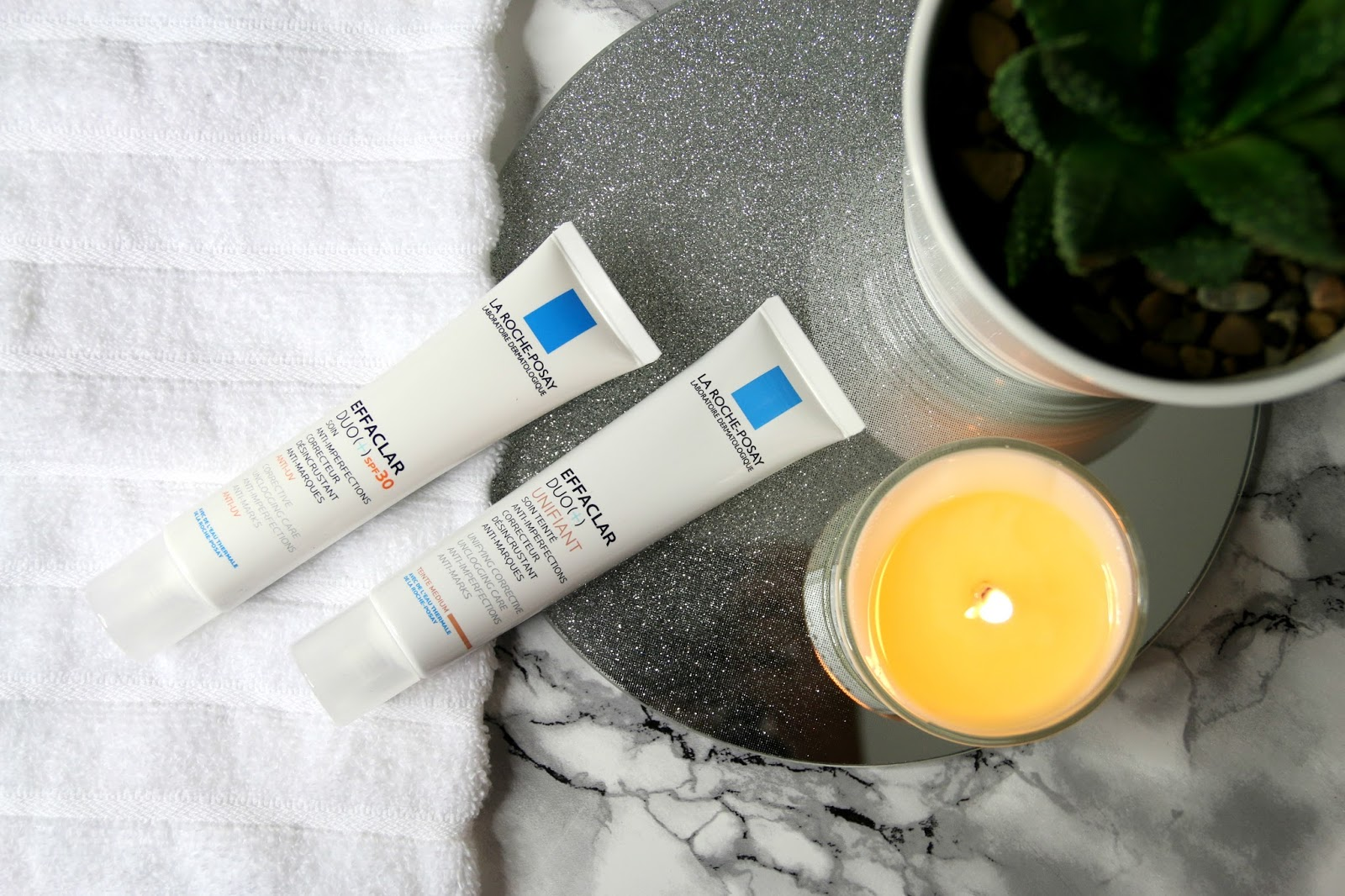 La Roche-Posay Effaclar Duo+ SPF 30 and Unifant Tinted Moisturiser