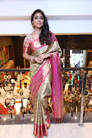 Actress Shriya Saran Stills in Saree at VRK Silks Launches at Himayat Nagar  0007.JPG