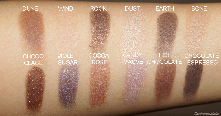 Laura Mercier Extreme Neutrals Eyeshadow Palette Swatches